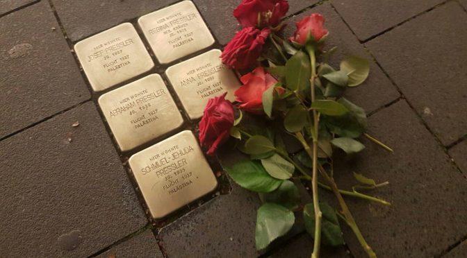 Gedenken an die Pogromnacht
